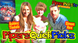 PQP #113: ASHLEY TISDALE INTERVIEW, SINGING, SCARY MOVIE 5 with SIMON REX & ALBUM INFO by PIPER REESE!