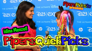 PQP #120: Idina Menzel's Wicked Duet & Disney FROZEN Interview!