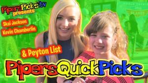 PEYTON LIST Talks JESSIE HALLOWEEN & Mean Girls + SKAI Jackson and BERTRAM Red Carpet Interview!