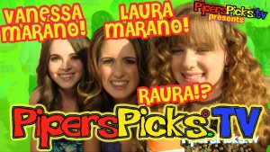 LAURA MARANO Answers Piper's ROSS LYNCH RAURA Fandom Questions with VANESSA MARANO at Nickelodeon Kids Choice Awards!