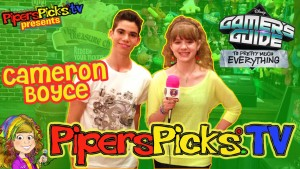 Cameron Boyce On Set Gamer's Guide to Pretty Much Everything