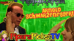 ARNOLD SCHWARZENEGGER Terminator Genisys MeGa-Awesome Interview with Piper Reese at Terminator Genisys   Shad Gaspard!