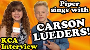 CARSON LUEDERS Sings Taylor Swift Shake It Off with Me   Travel the Orange Carpet at Nick KCAs!
