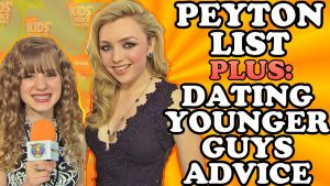 PEYTON LIST Plus DATING YOUNGER GUYS Advice! Peyton Spills Emma's Relationship Info on Bunk'd!