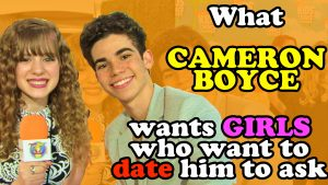How to Talk to CAMERON BOYCE (for Girls) PLUS Gamer's Guide Updates!