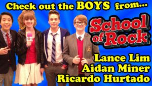 The Boys from School of Rock