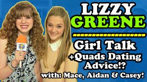 LIZZY GREENE Talks QUAD Dating Skills, Fashion