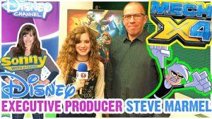 Disney's Mech-X4 Full Details with Show Creator Steve Marmel from Danny Phantom