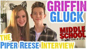 Griffin Gluck Talks Middle School Movie, Kisses Isabela Moner, Breaks Rules