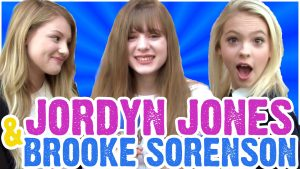 Jordyn Jones and Brooke Sorenson Singing Taylor Swift