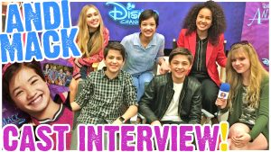 Andi Mack CRUSHES It! Peyton Elizabeth Lee, Asher Angel, Joshua Rush, Sofia Wylie