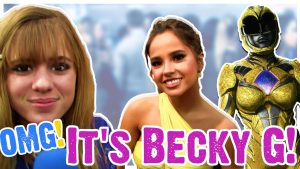 O…M… Becky G Gets the Girl!? Talking Power Rangers, Hotel Transylvania, Makeup