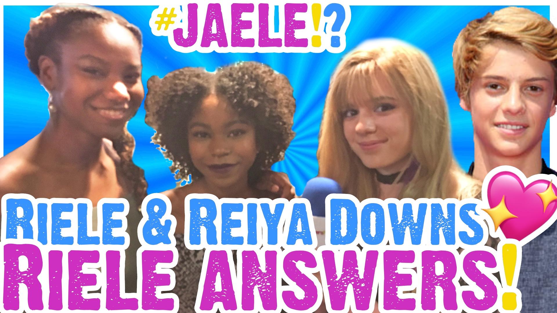 Riele Downs Answers Jace Norman Rumors & Reiya Talks Degrassi