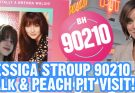 Piper Reese visits the Peach Pit and interviews Jessica Stroup!