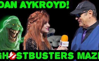 Piper Reese interviewing Dan Aykroyd