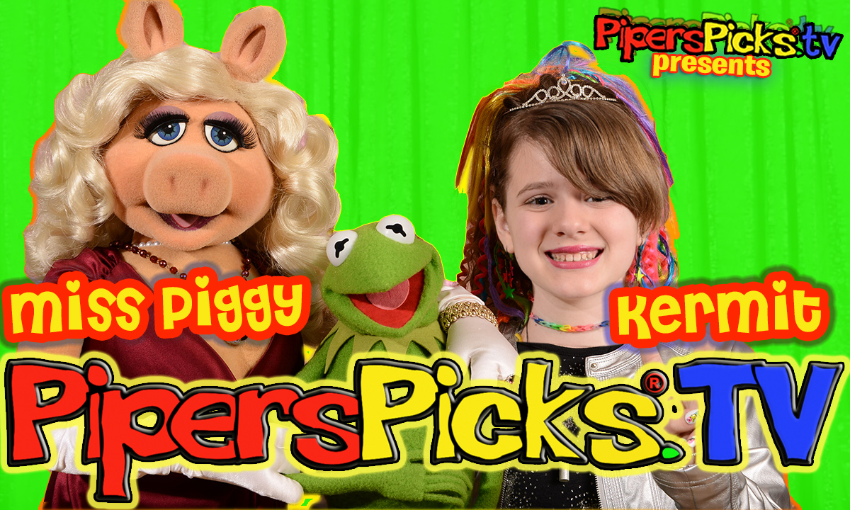 muppets popcorn miss piggy and kermit
