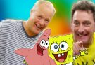 Piper with Tom Kenny & Bill Fagerbakke