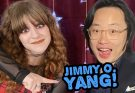 Piper Reese with Jimmy O. Yang